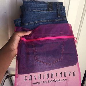 Fashion Nova High Waist Denim Jeans💕